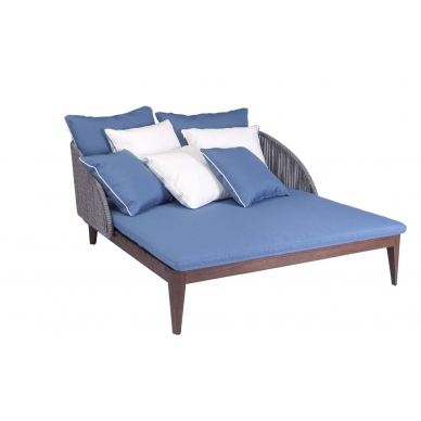 Chaise Double Angie Vertical Respaldo